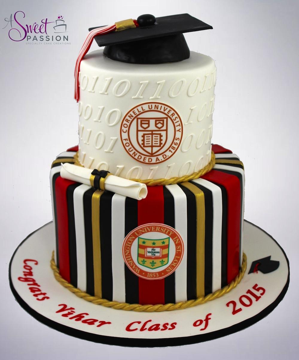 Cornell Graduation Cakes
