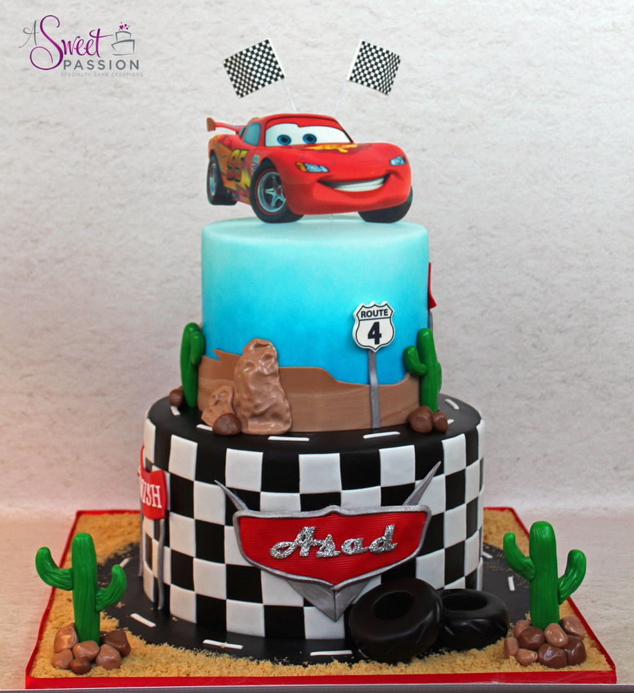 Disney Cars Cake Sweet Passion Cakery