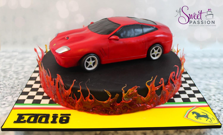 Ferrari Maranello Cake Sweet Passion Cakery