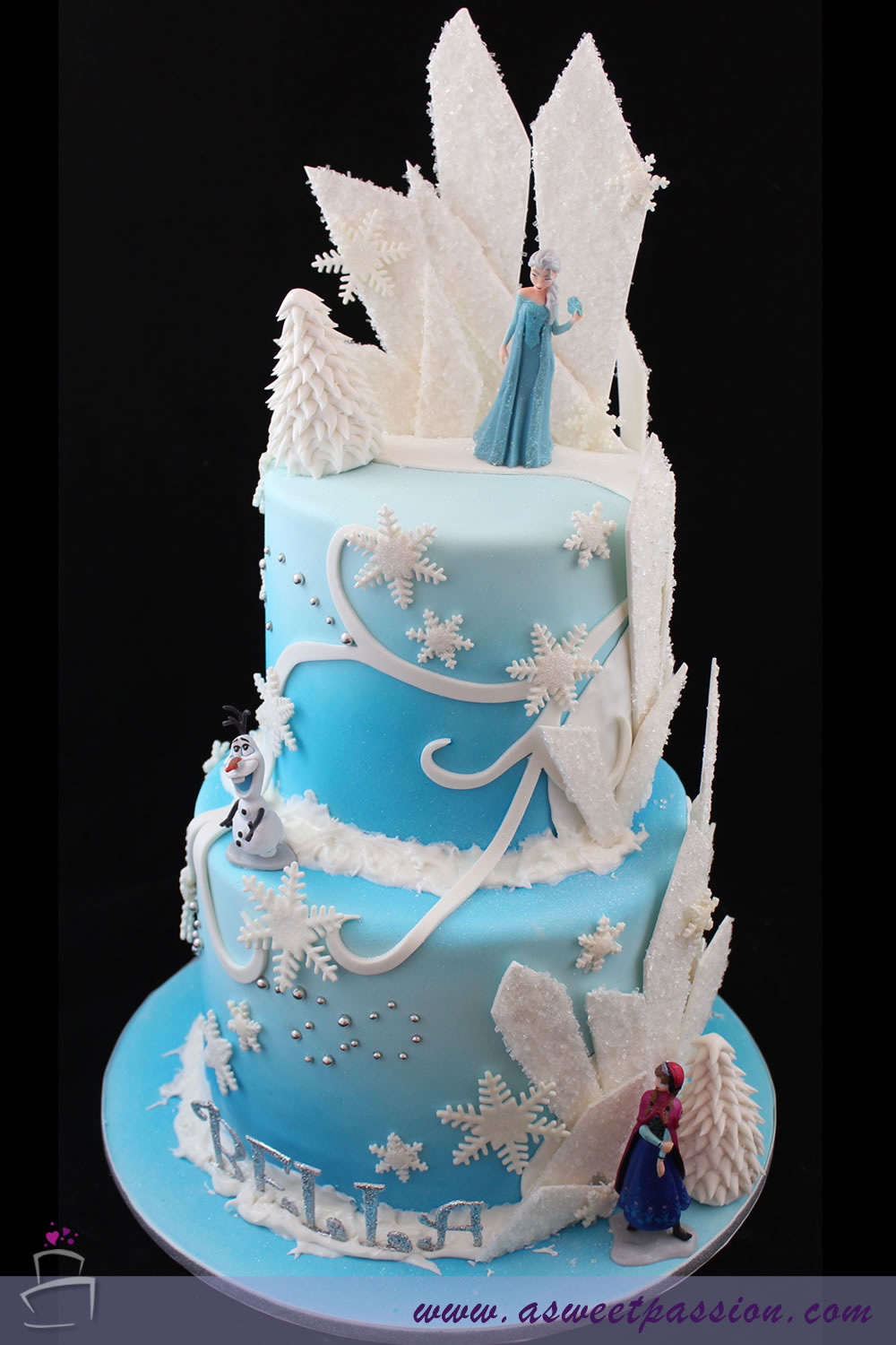 Frozen Birthday Cake To Order