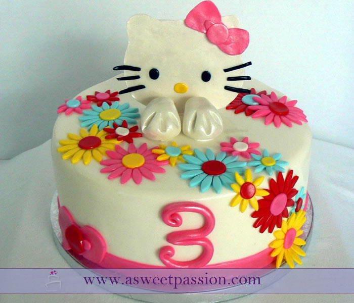 Hello Kitty Birthday Cake Sweet Passion Cakery