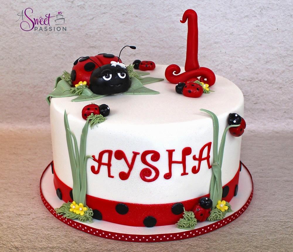 Prime Ladybug Cake Sweet Passion Cakery Funny Birthday Cards Online Elaedamsfinfo