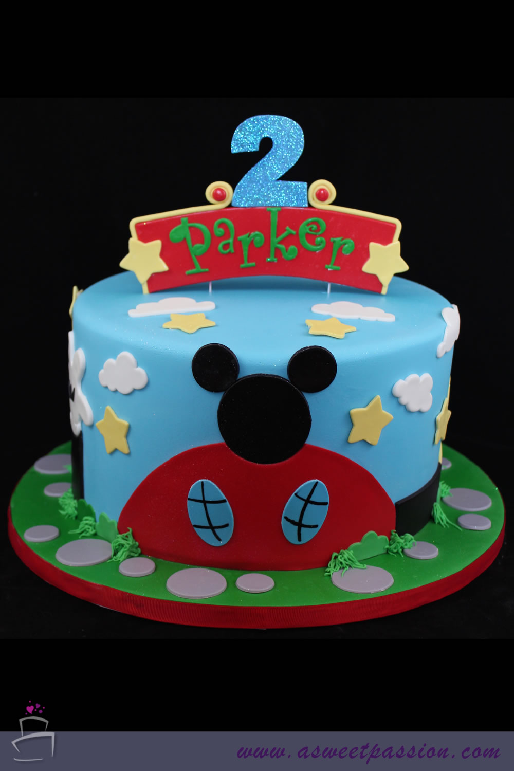 Enjoyable Mickey Mouse Clubhouse Cake Sweet Passion Cakery Funny Birthday Cards Online Overcheapnameinfo