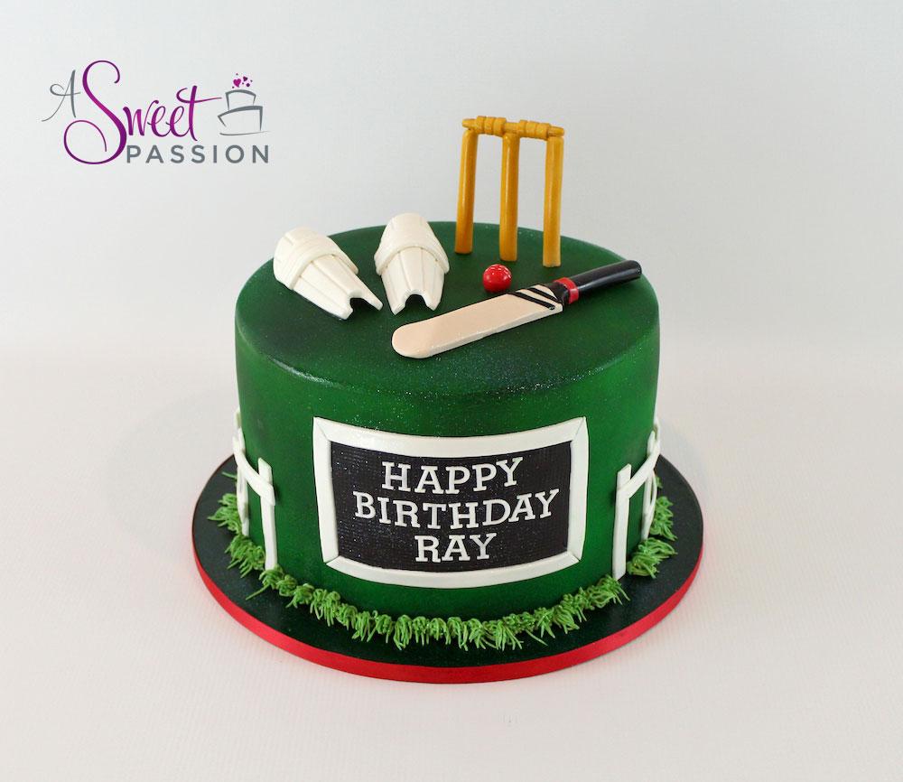 Cricket Birthday Cake Ndash Sweet Passion Cakery