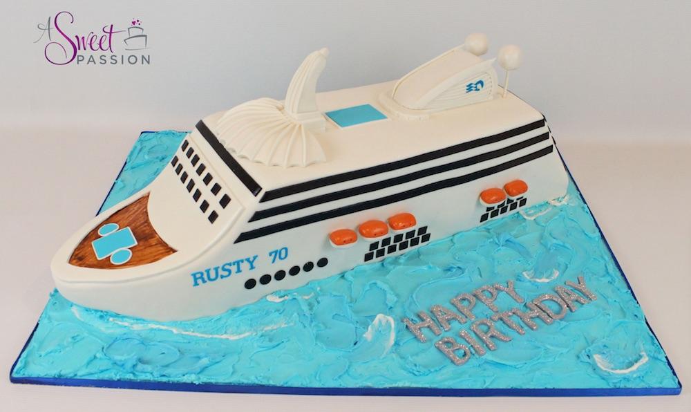 Royal Princess Cruise Ship Cake Sweet Passion Cakery - Cruise ship cake