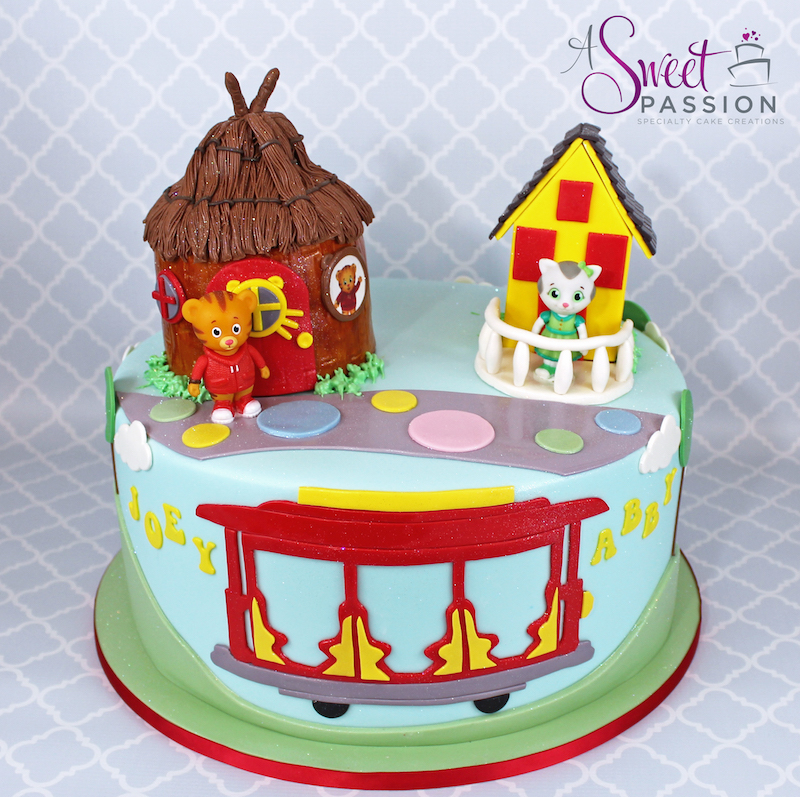 Wondrous Daniel Tiger Cake Sweet Passion Cakery Funny Birthday Cards Online Elaedamsfinfo