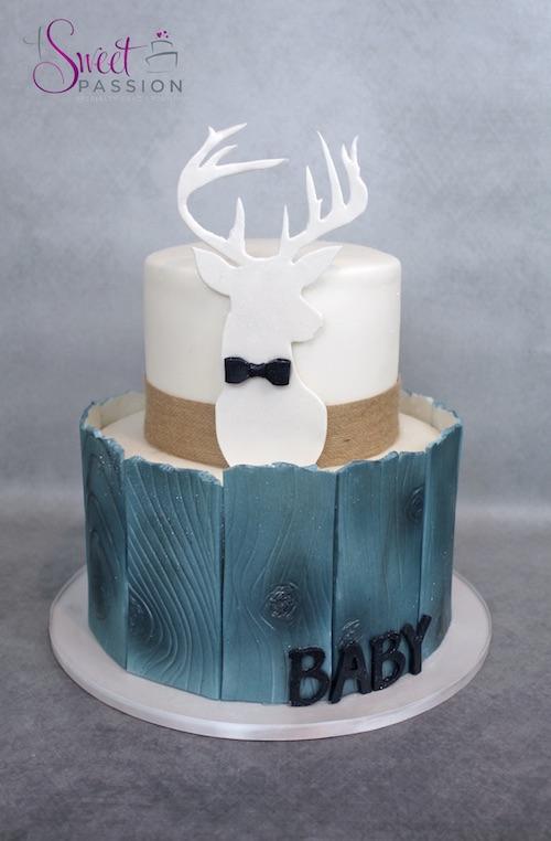 Baby Deer Cake Ideas