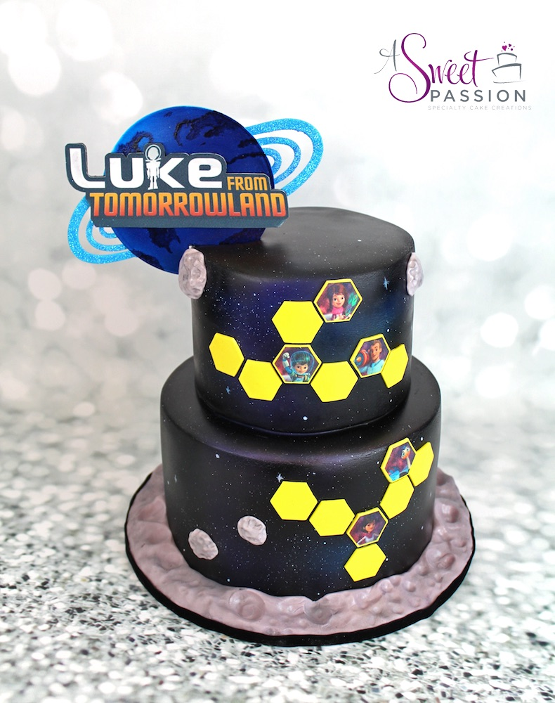 Miles From Tomorrowland Cake Sweet Passion Cakery