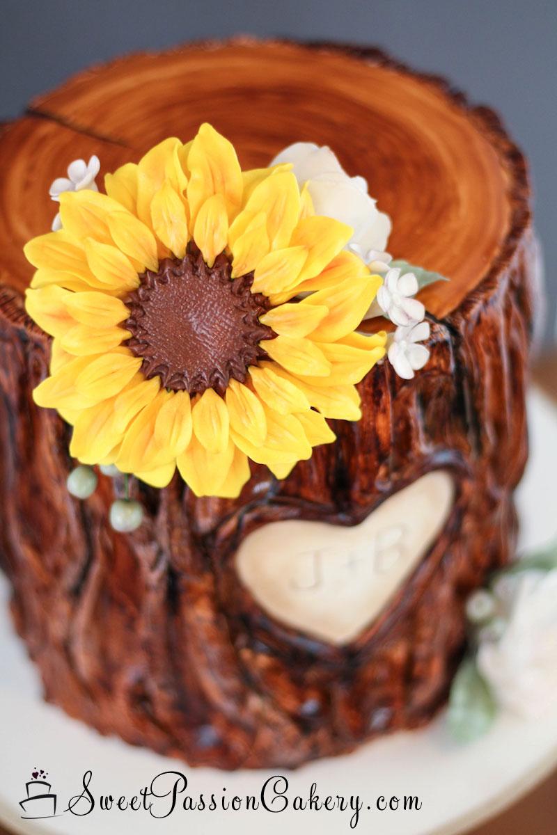 Tree Stump Cake – Sweet Passion Cakery