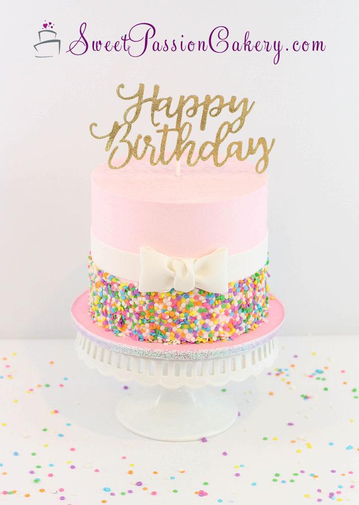 Prime Confetti Birthday Cake Sweet Passion Cakery Funny Birthday Cards Online Elaedamsfinfo